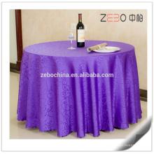 """Padrões de jacquard diferentes disponíveis banquete usado 132 """"pano de mesa redonda"""