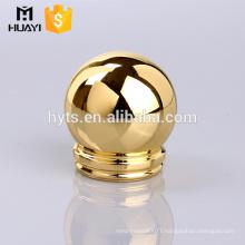wholesale gold round zamac perfume bottle cap