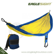 Custom-Made Nylon Hammock (with Straps on Pouch)