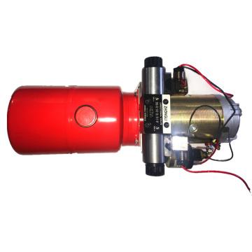 Гидравлический силовой агрегат для строительного грузовика