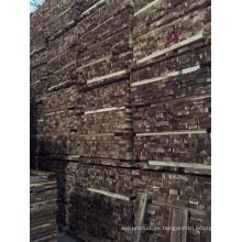 Gran cantidad de material de madera para pisos de acacia rugoso Abcd Grade