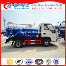 Foton Forland Mini camión de drenaje de aguas residuales camión de aguas residuales