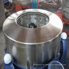 máquina centrífuga industrial del secador de giro