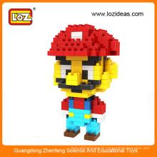 Vente chaude LOZ enfant jouet mini diamant bloc de construction blocs scolaires ABS ABS