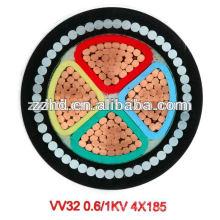 Fil blindé de fil d'acier de SWA XLPE de BS 5467 0.6 / 1KV