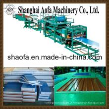 Linha de produção do painel de sanduíche de lãs minerais (AF-R760)