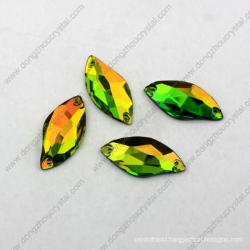 China Flat Back Sew on Wholesale Flat Glass Beads