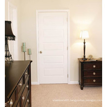 New Design for Villa Hotel Moulded Interior Wood Door