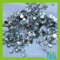 DIY phone decoration silver back resin rhinestone no hole beads