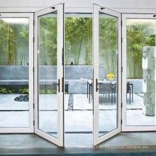 Außentür aus Aluminium-Flügeltür