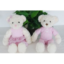 Plush toys fashion cute couple to bear
