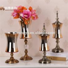 2016 Heißer Verkauf Hauptdekoration Glasblumen-Vase für Haupttabellen-Dekoration