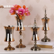 2016 Vente chaude Maison Décoration Vase en verre pour décoration de table à domicile