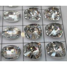 Novos botões grande cristal bonito design moda por atacado