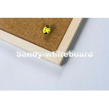 wooden frame cork sheet Cork Board