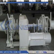 Высококачественная морская электрическая комбинированная якорная лебедка для судов (USC-11-012)
