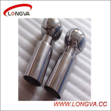 Boule de nettoyage rotative soudée en acier inoxydable sanitaire