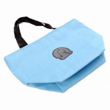 Waterproof Canvas Insulation Ice Cooler Tote Bag, Customized Designs and Logos are Accepted