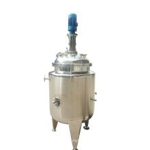 Réservoir d'agitateur sanitaire en acier inoxydable