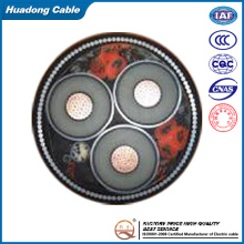 150mm2 up to 35kv Fire Resistant XLPE Swa Armoured Power Cable