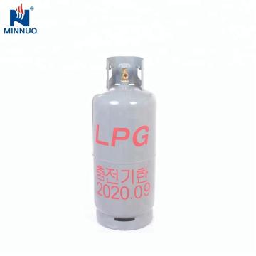 Dominica garrafa de cilindro de propano de gás de aço vazio 25kg
