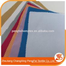 Tecido sólido personalizado 100% polyeste microfibra