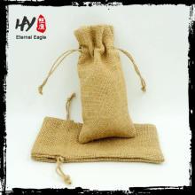 Neue Design Großhandel Sackleinen kleine Sack biologisch abbaubare Taschen