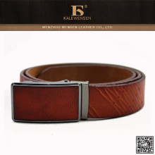 Competing price automatic buckle genuine leather belt