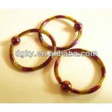Bagues de fermeture à bille Piercing piercing bijoux