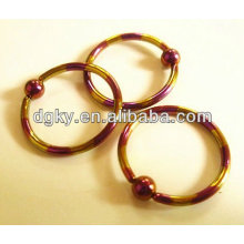 Ball Closure Rings piercing body jewelry unique ear barbell