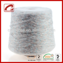 Top Line blended fancy wool silk yarn for sweater designs for girls