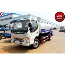 2019 nuevo tanque de agua montado en camión JAC 5000 l