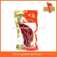 Bolsas de plástico imprimibles para la conservación de alimentos frescura