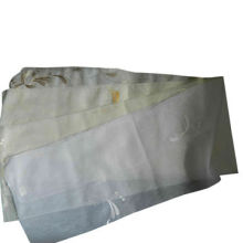 100% polyester voile with embroidery curtain fabric, width 280cm . density 29x31/cm weight:40gsm