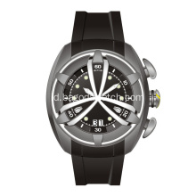 Hiu stainless steel mens jam tangan