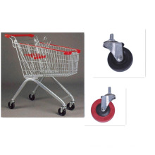Unfolding /Customized / Shopping Trolley with Coin Lock