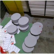 Engranaje plástico del proceso del CNC del PVC