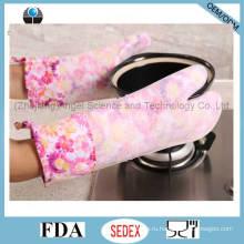 Термоизоляция Длинные силиконовые резиновые перчатки для выпечки Sg19