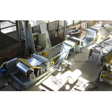 Máquina de corte longitudinal automático completo del alto rendimiento del CNC