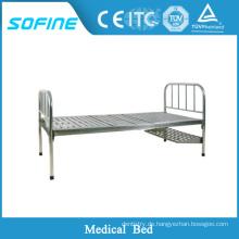 SF-DJ103 Edelstahl medizinische Ausrüstung Bett Krankenhaus