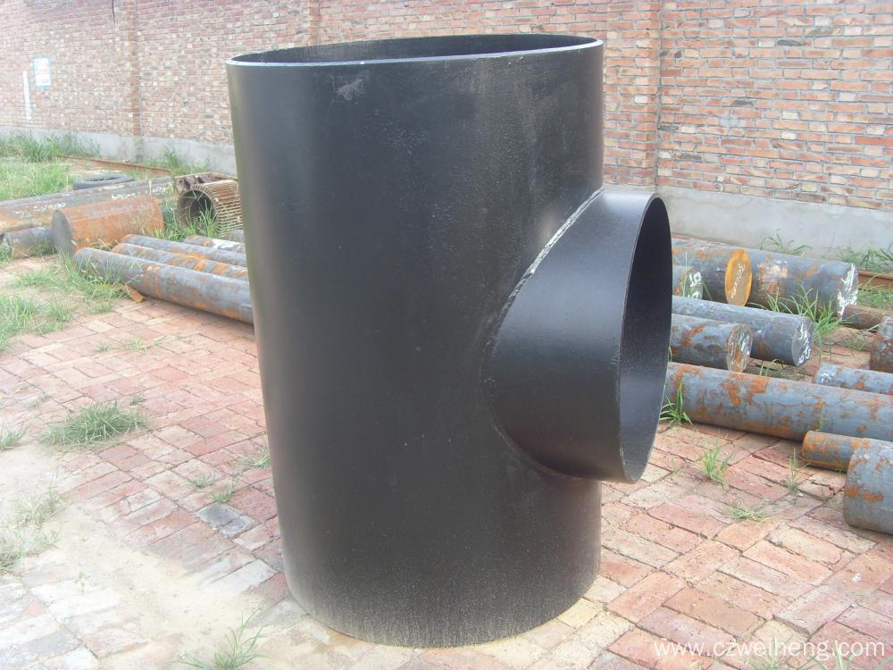carbon steel tee ASTM A234 WPB