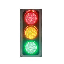 Red Yellow Green LED Traffic Light Signal For Road Cross