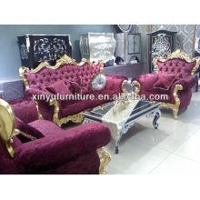 Фиолетовый классический французский диван A10114
