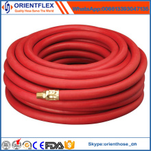 Rubber Smooth Air Hose with Brass Fittings