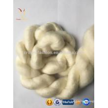 100% penteado de cashmere tops de fibra à venda