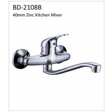 Bd2108b 40mm Zinc solo grifo de la cocina de la palanca