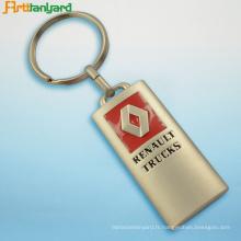 Personnaliser le keychain en métal à vendre