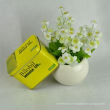 Caixa de lata com caixas de lata com caixas de lata com dobradiça