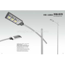 IP66 120w Aluminium moulant sous pression COB LED lampe de rue / coque extérieure