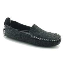 Good Quality for Mens Indoor Slippers Casual moccasin whole felt shoes for men export to Gabon Exporter